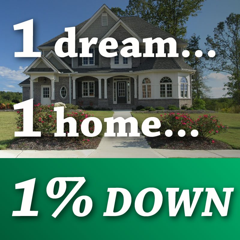 1 Down Payment Mortgage Garden State Home Loans