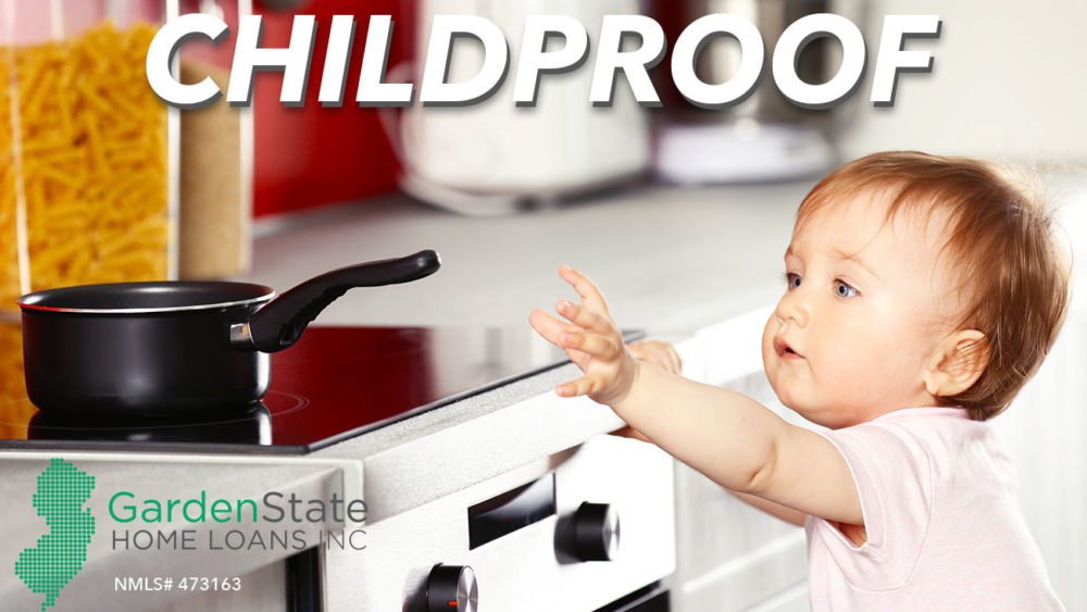 Childproofing a home