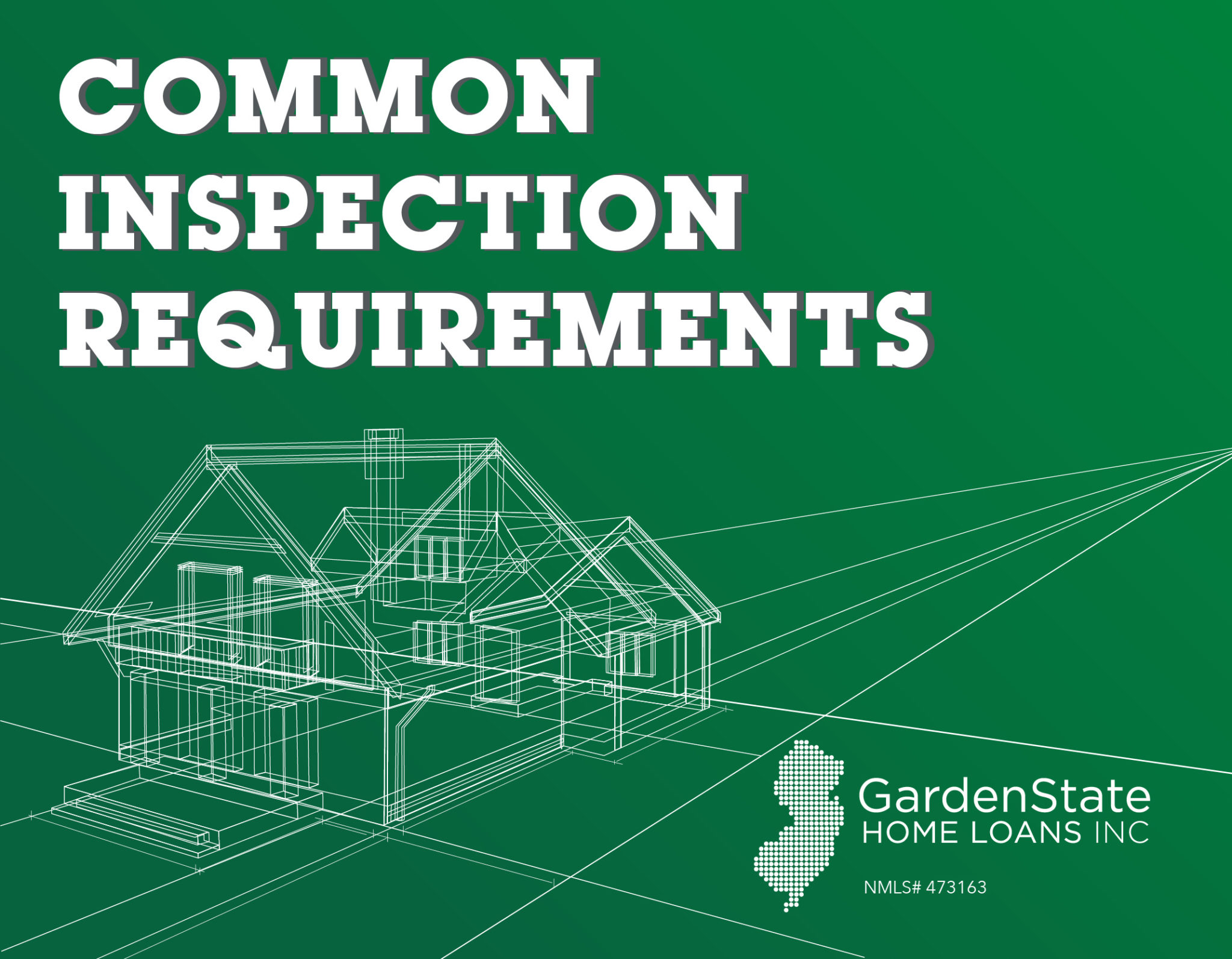 Home Inspection Checklist Garden State Home Loans