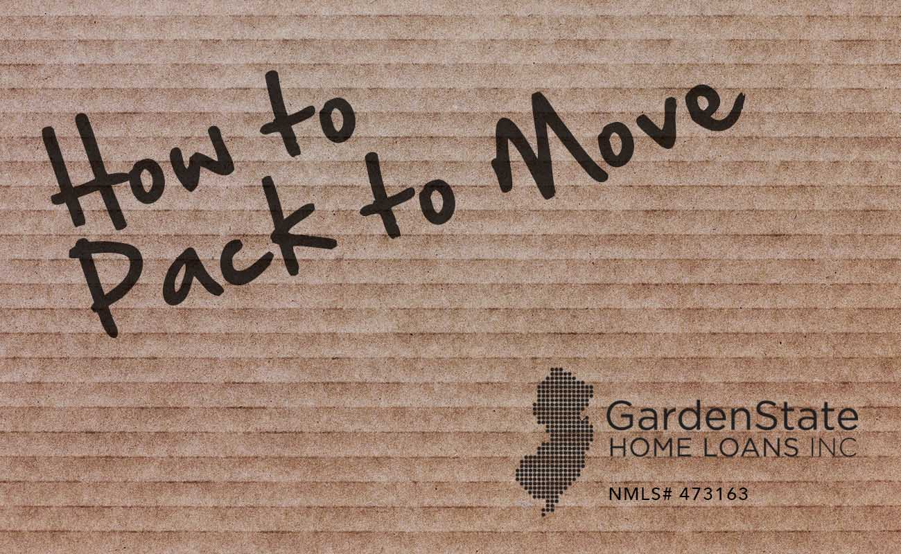 How to pack to move