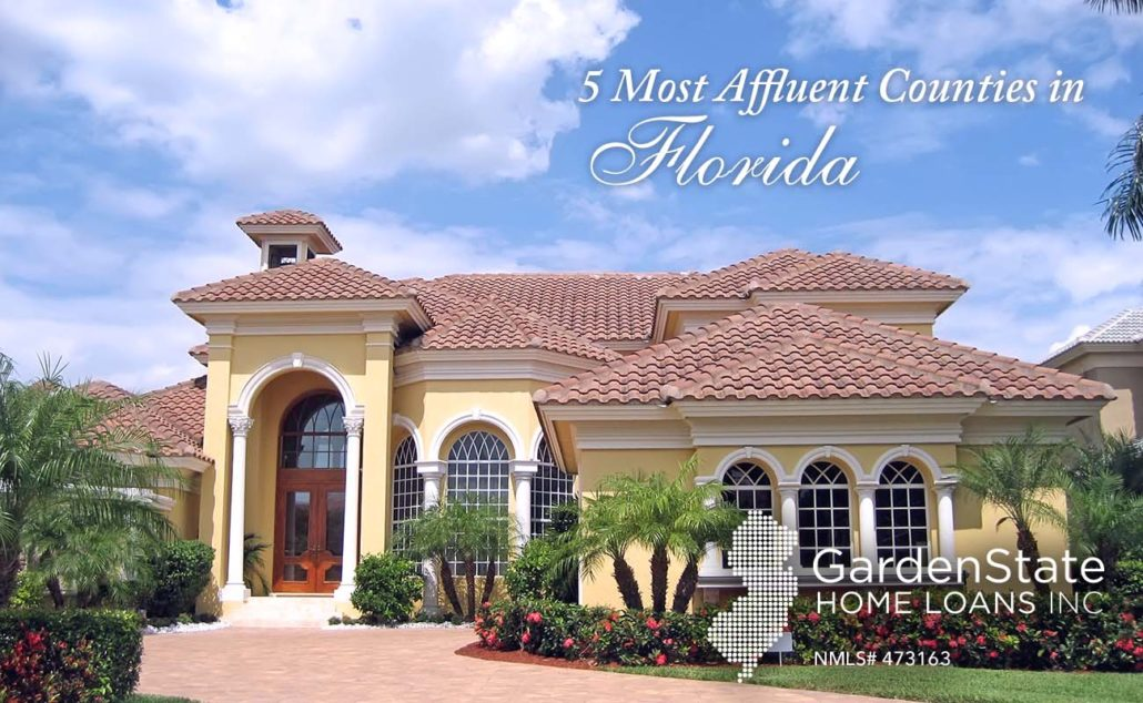 most affluent counties in fl