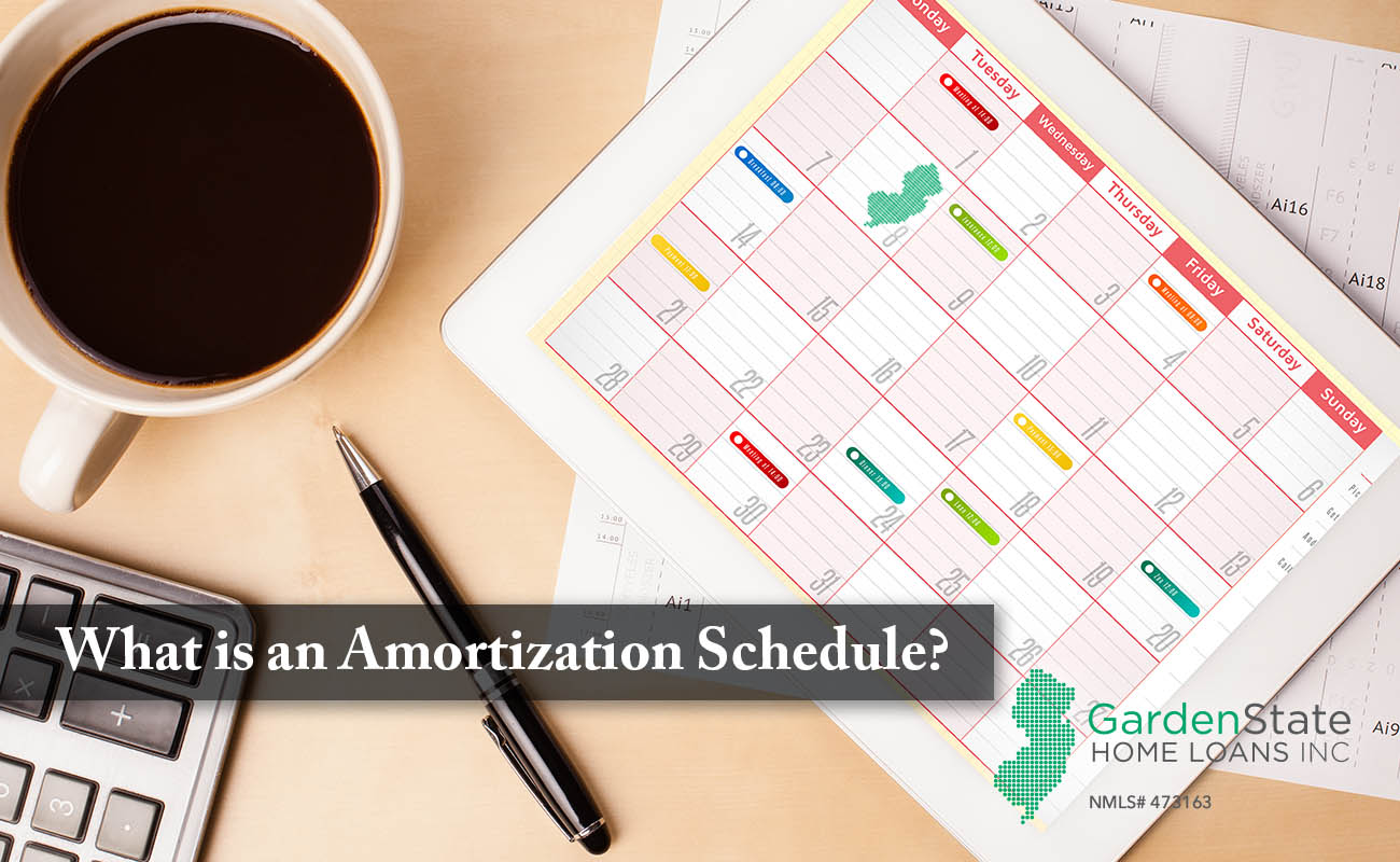 what is a amortization schedule