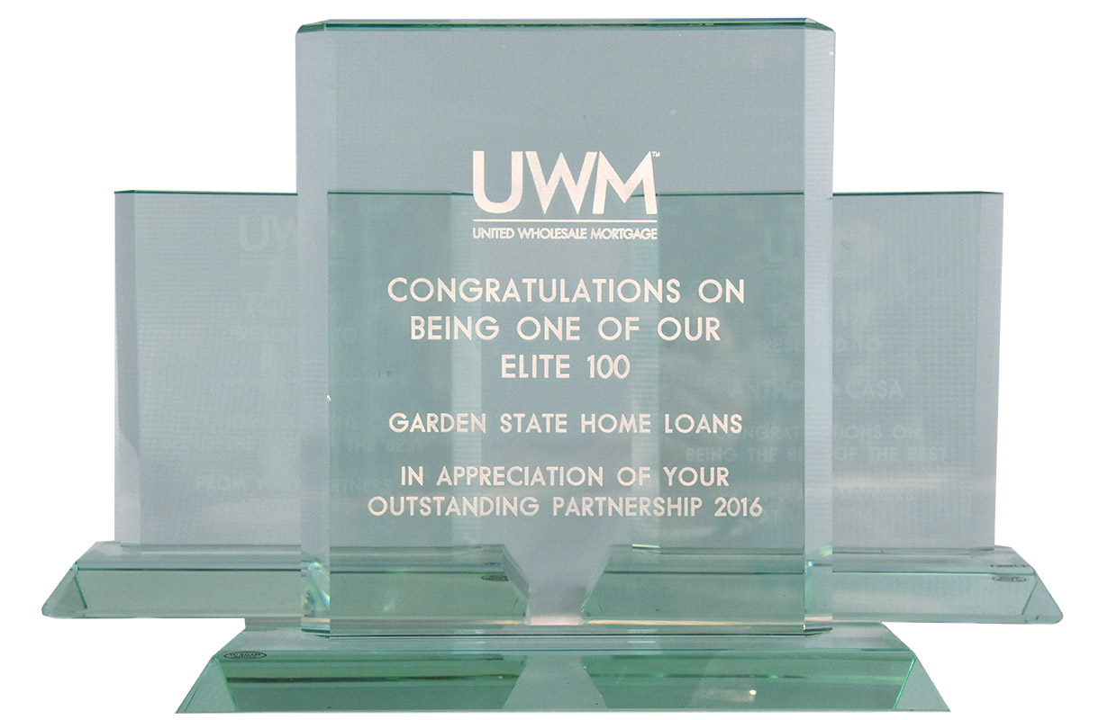 uwm award - Garden State Home Loans