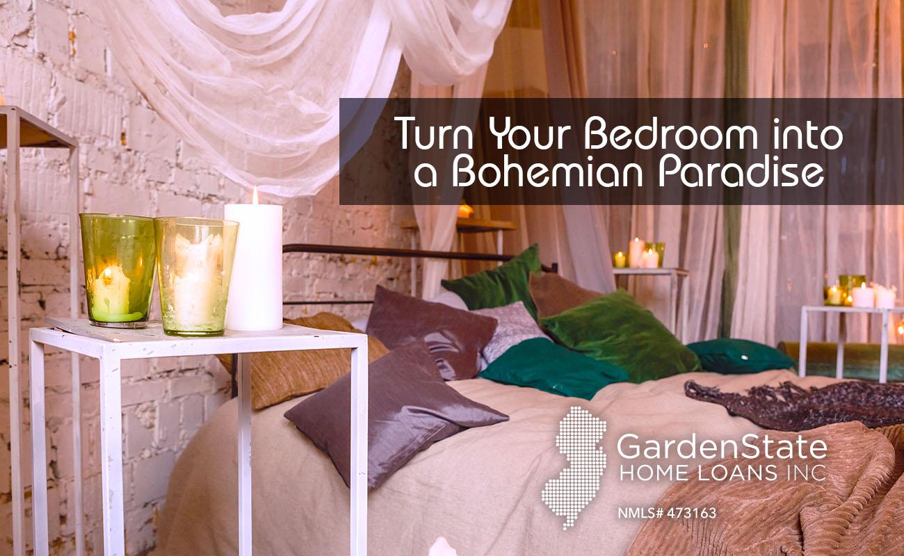 Boho Bedroom Garden State Home Loans