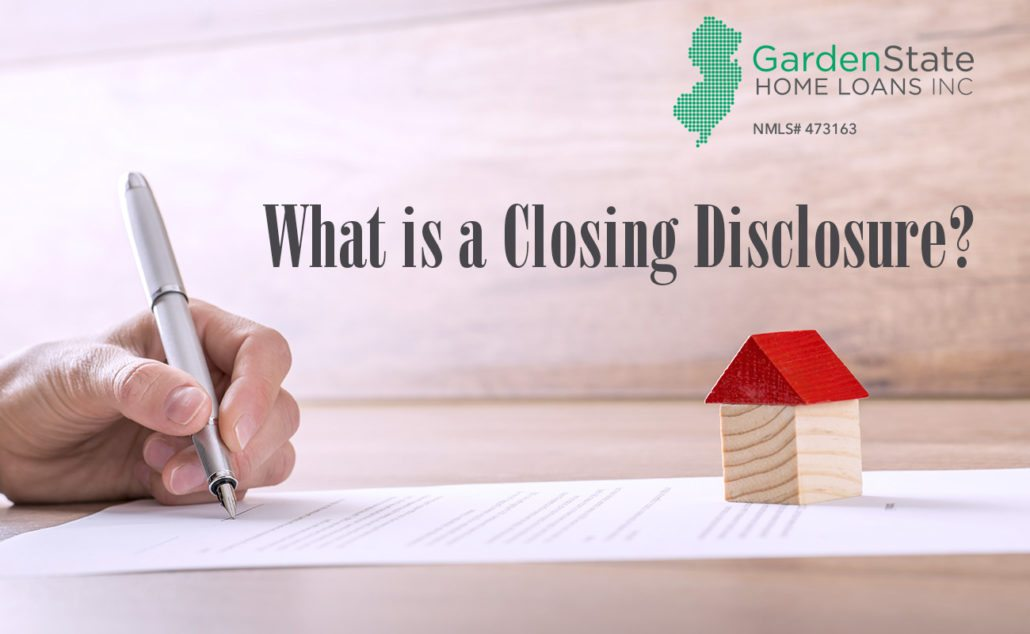 what is a closing disclosure
