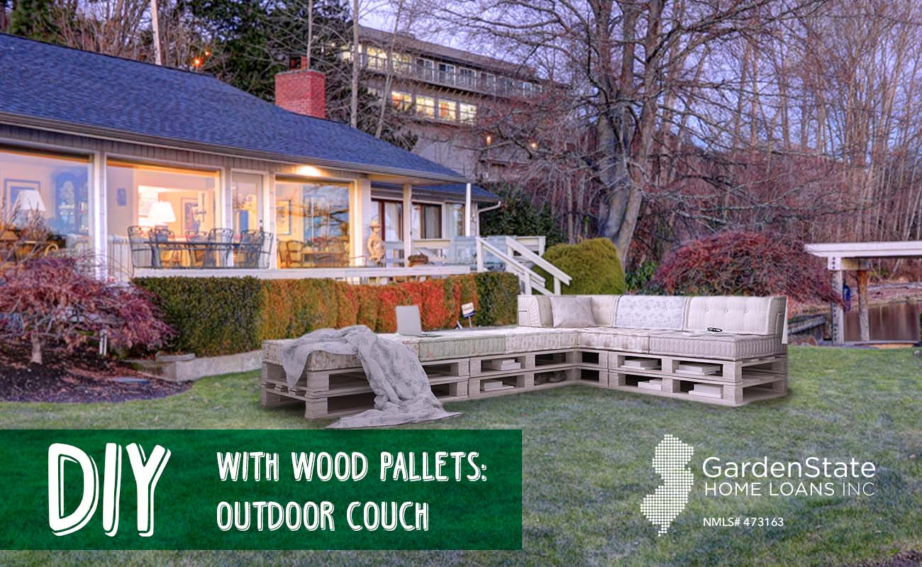 Diy Pallet Couch Garden State Home Loans