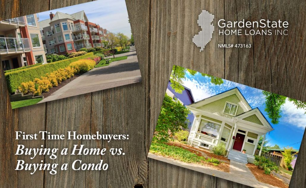 First Time Homebuyers: Buying a House vs  Buying a Condo - Garden