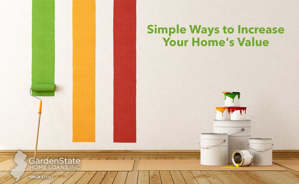 Simple ways to increase your home 39 s value garden state for How to increase home value