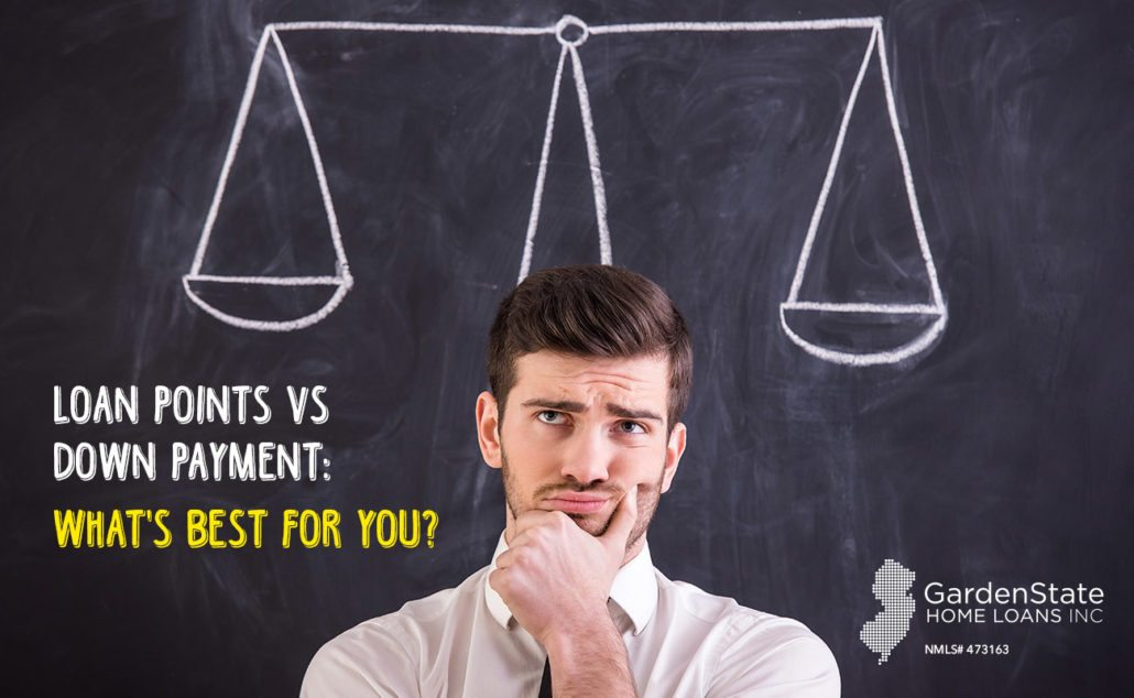 Mortgage points vs down payment what 39 s best for you for Down payment to build a house