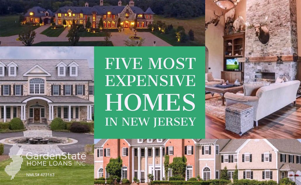Five Most Expensive Homes For Sale In New Jersey