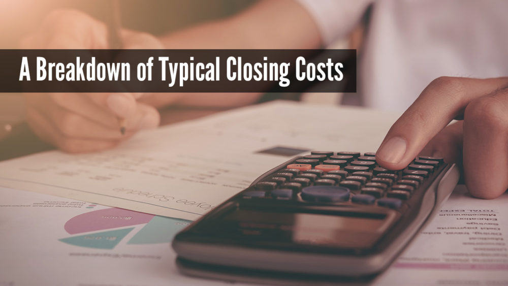 breakdown of mortgage closing costs