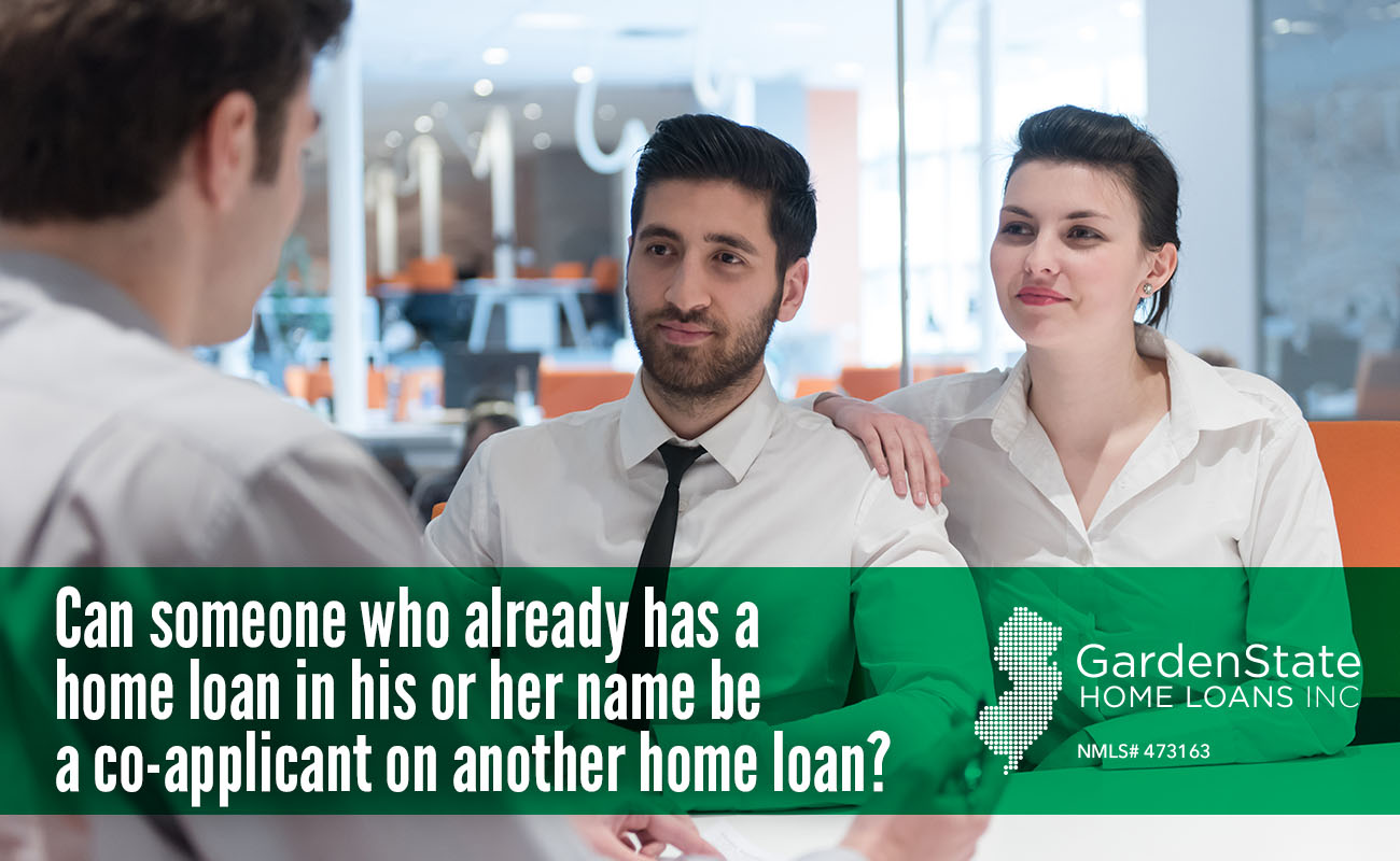 Mortgage Co Applicant Garden State Home Loans