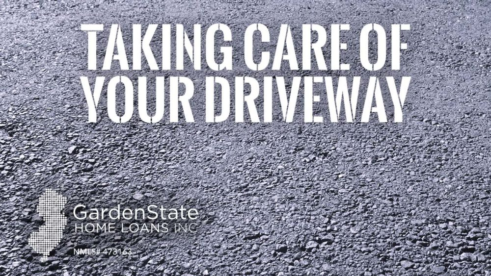 taking care of a driveway