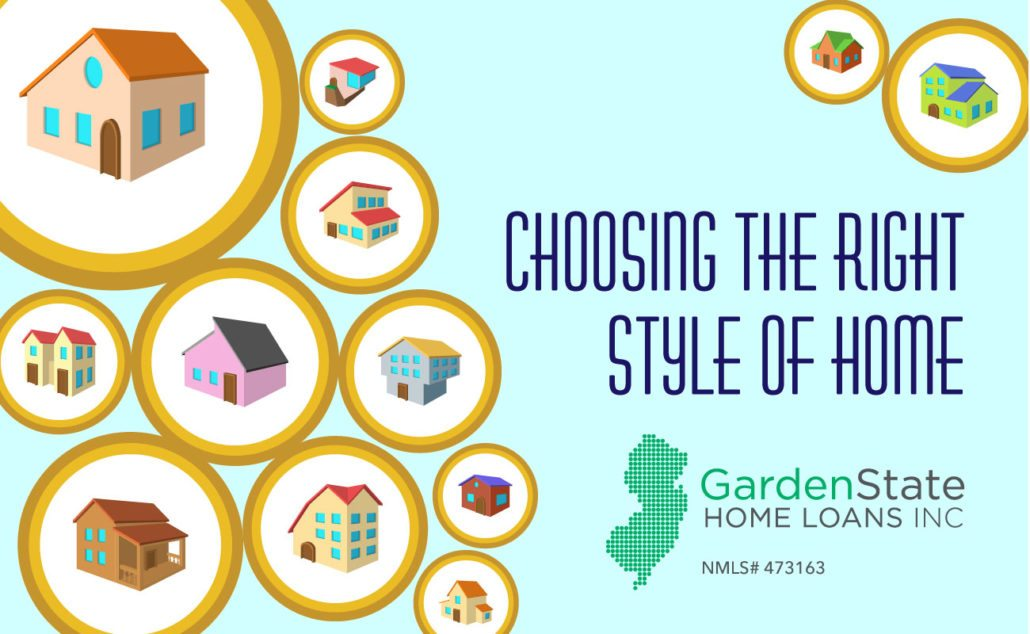 Choosing From Different Styles Of Homes Garden State