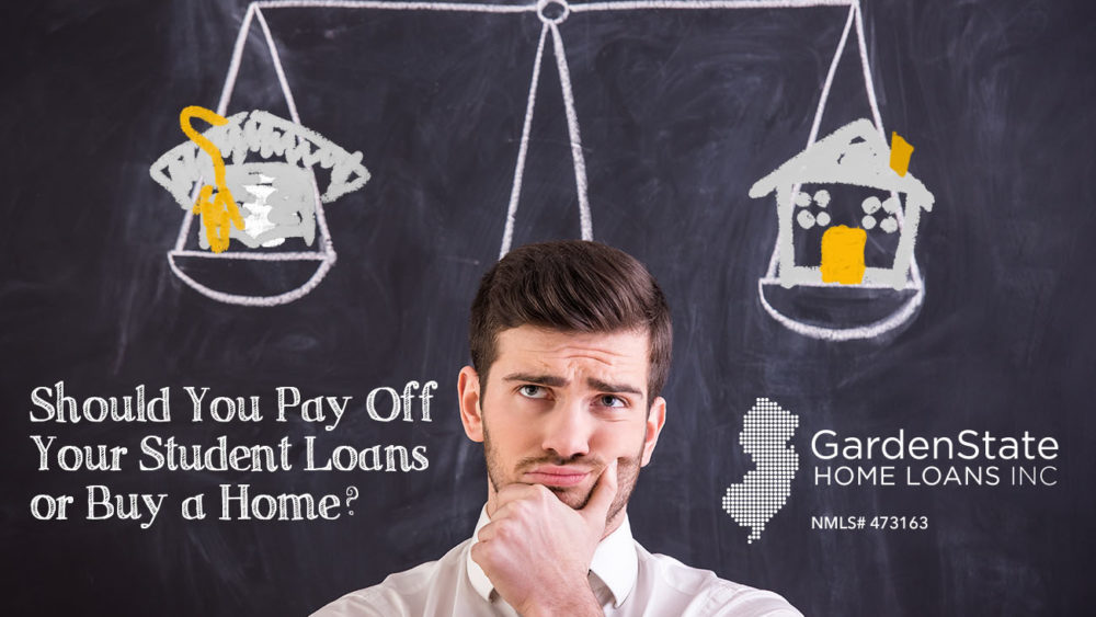 student loan payments vs mortgage
