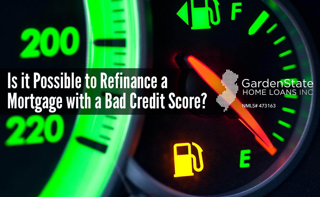 poor credit refinance