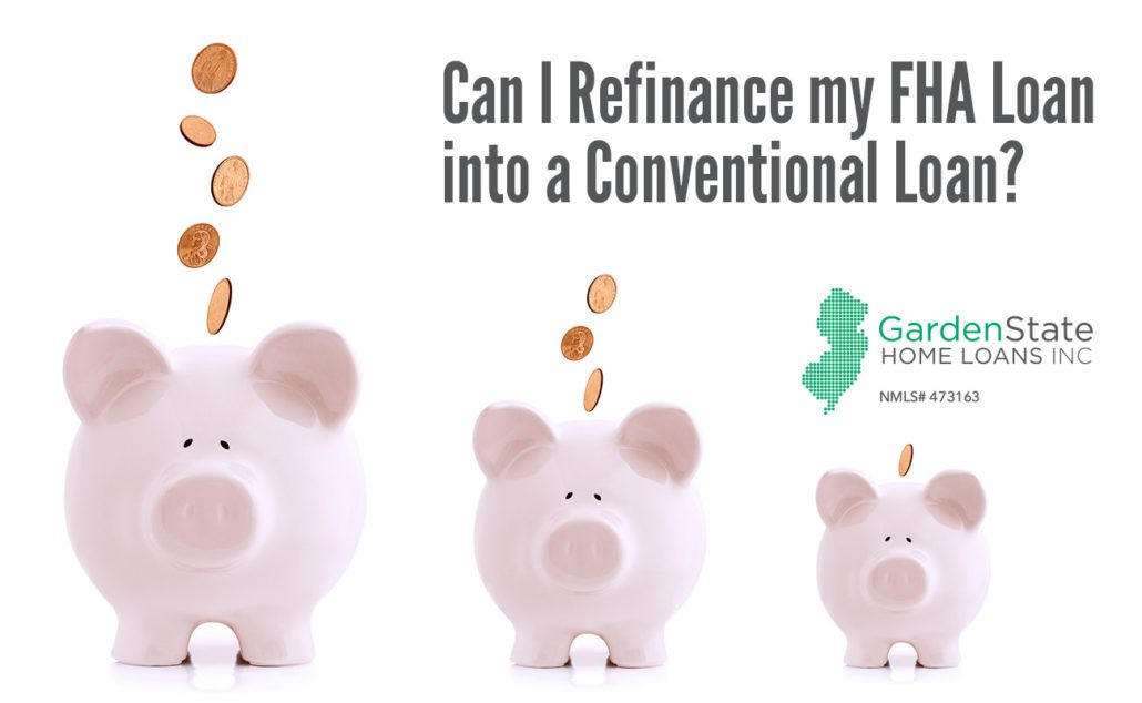 refinance from fha to conventional