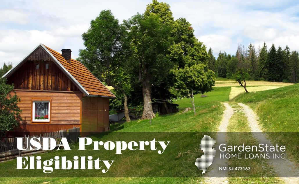 Usda property eligibility garden state home loans for Usda approved homes