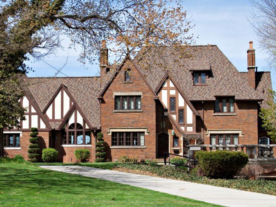 Originating In England, Tudor Style Is One Of The Most Recognizable Home  Styles. It Is Known For Steeply Pitched, Multi Gabled Roofs And Decorative  ...