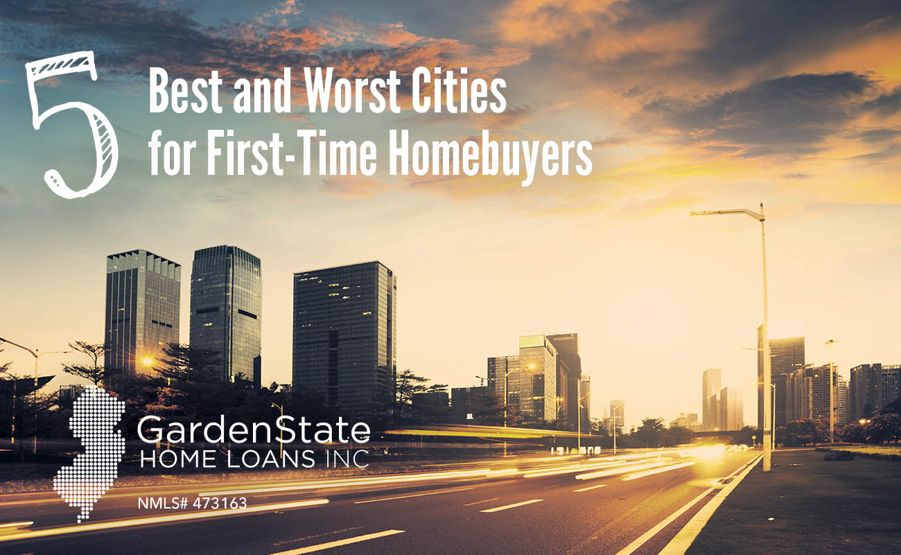 best and worst cities for first time homebuyers