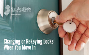 , Changing or Rekeying Locks When You Move In
