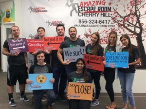 , Garden State Home Loans Team Conquers The Escape Room