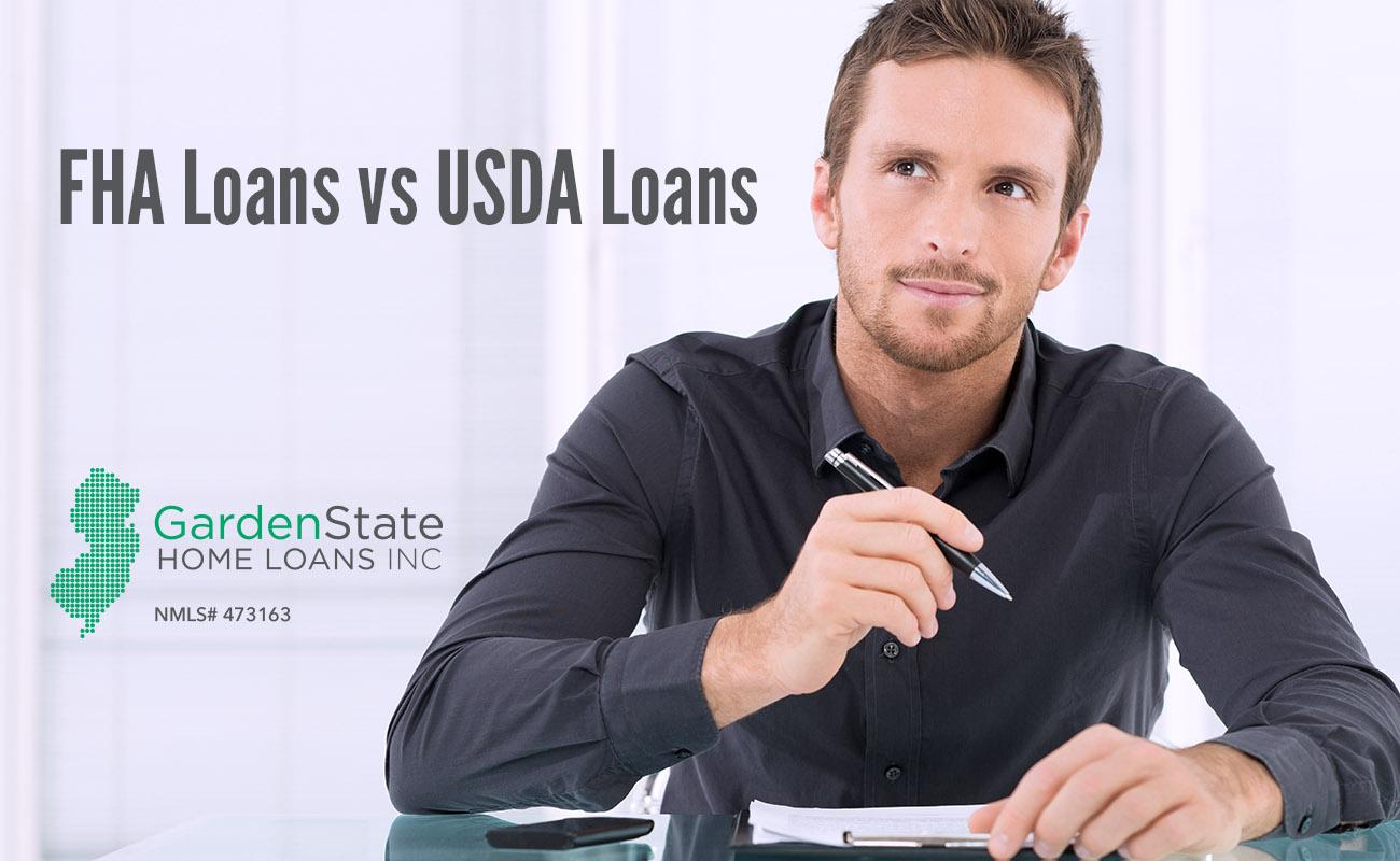 fha loans vs usda loans garden state home loans. Black Bedroom Furniture Sets. Home Design Ideas