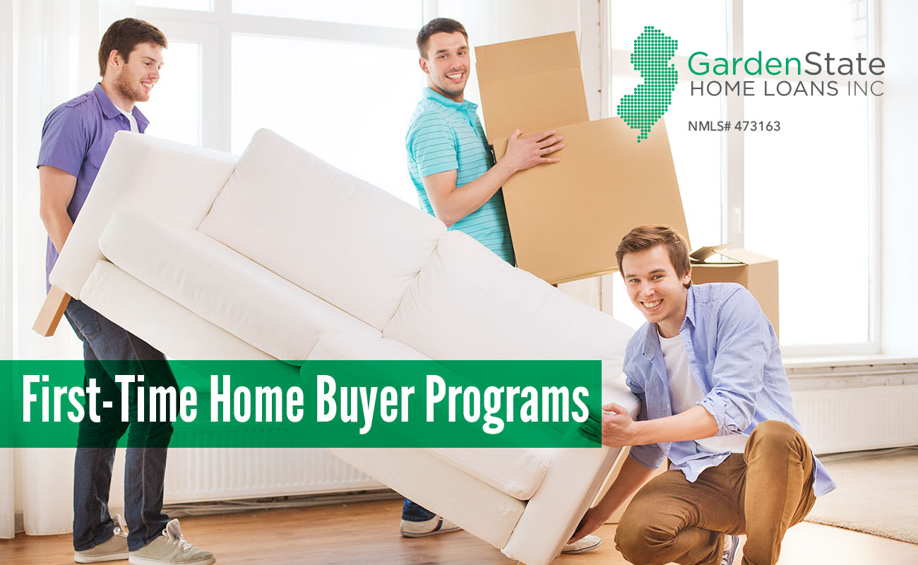 first time home buyer programs - Garden State Home Loans
