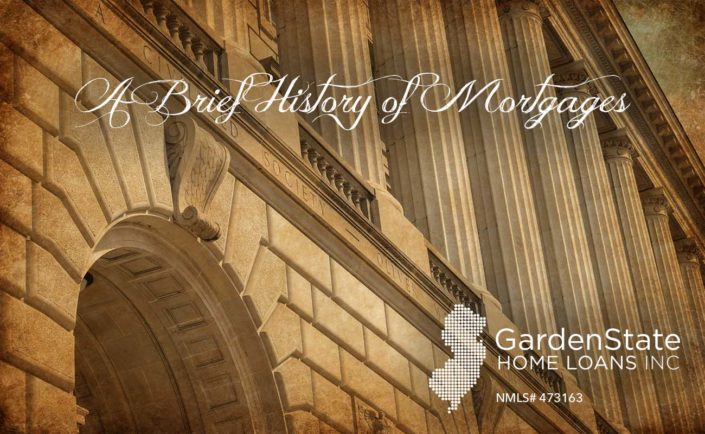 the history of mortgages