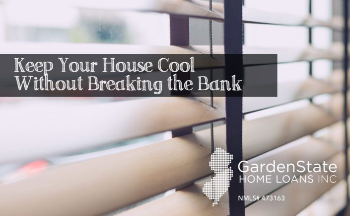 how to keep the house cool