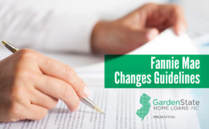 , Fannie Mae Changes Guidelines