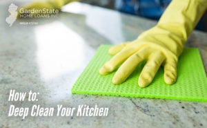 , How to: Deep Clean Your Kitchen