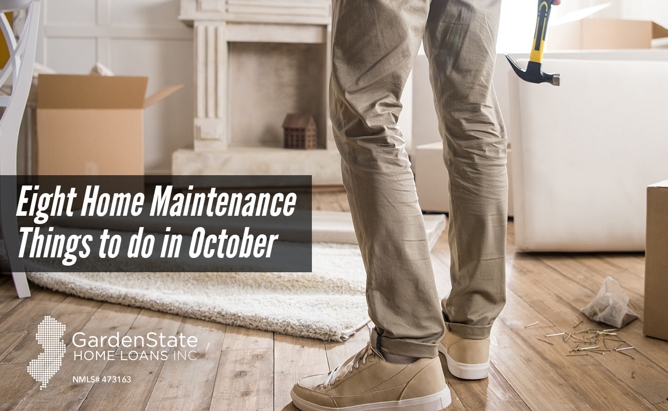 Eight Home Maintenance Things To Do In October Garden