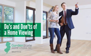 , Do's and Don'ts of a Home Viewing