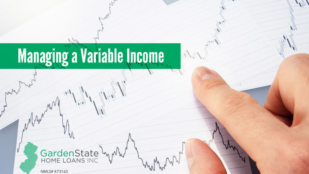 , Four Tips For Managing a Variable Income