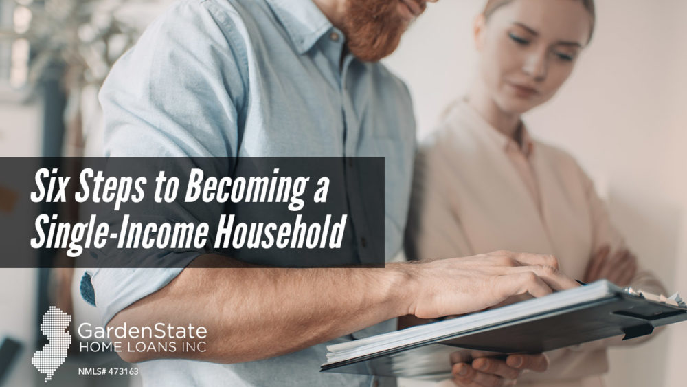 , Six Steps to Becoming a Single-Income Household