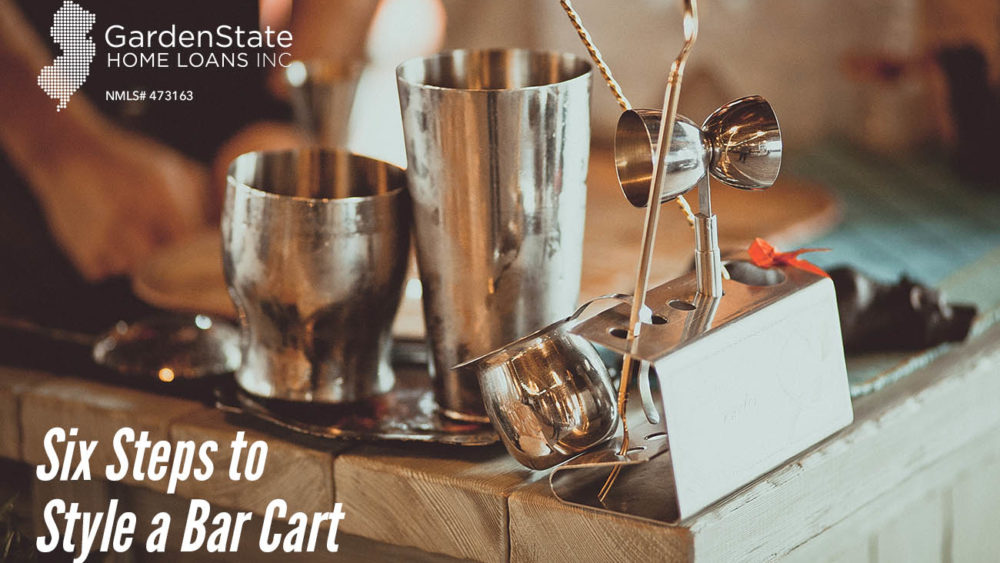, Six Steps to Style a Bar Cart