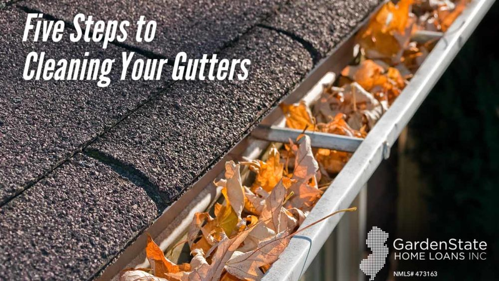 , Five Steps to Cleaning Your Gutters