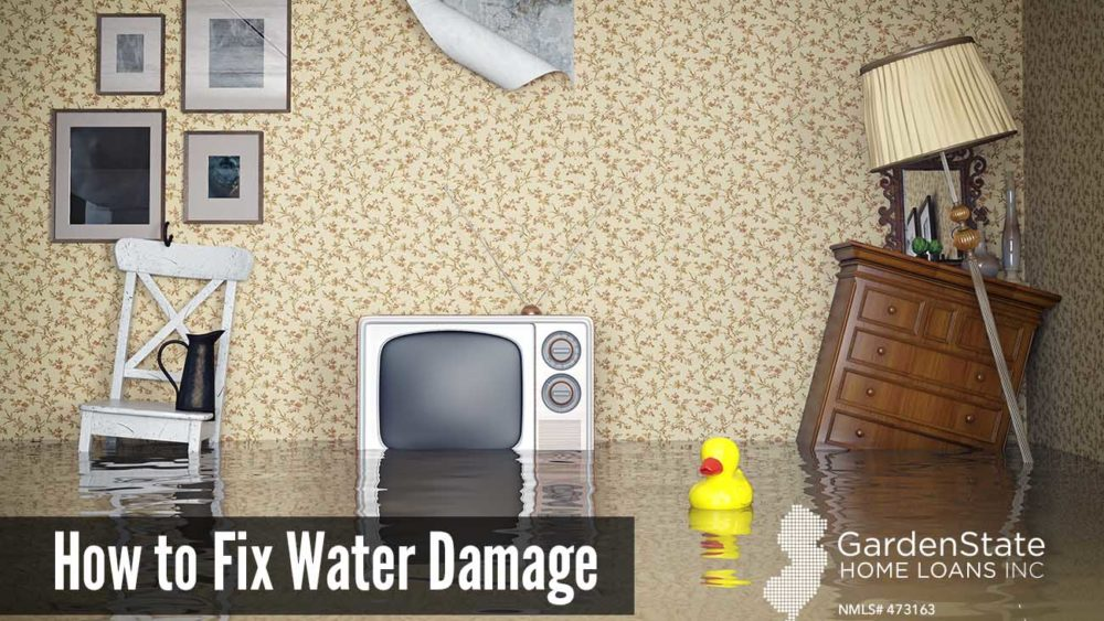 , How to Fix Water Damage