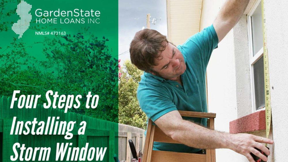 , Four Steps to Installing a Storm Window
