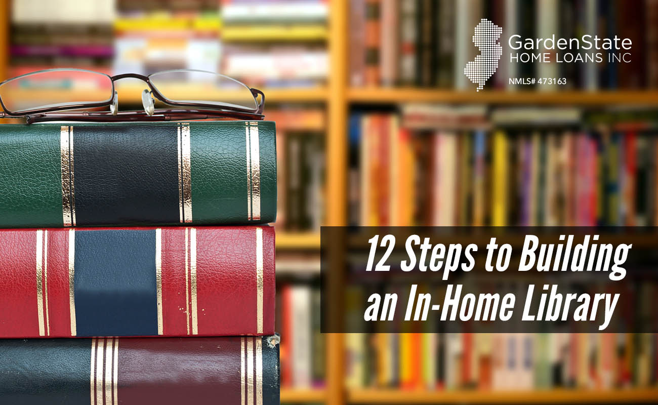 how to build a library in your home