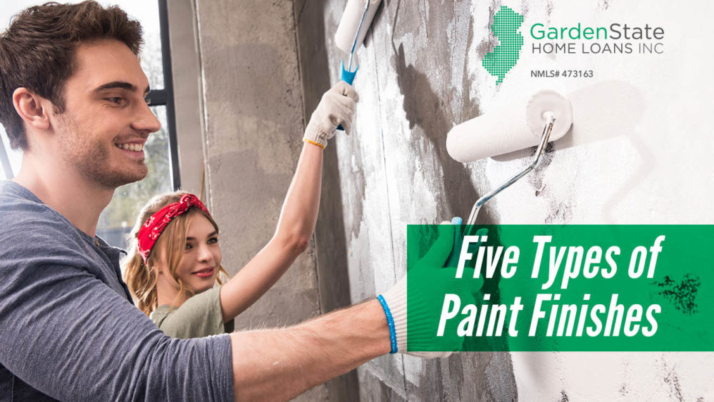 , Five Types of Paint Finishes
