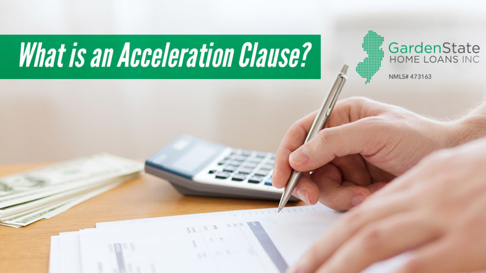 , What is an Acceleration Clause?