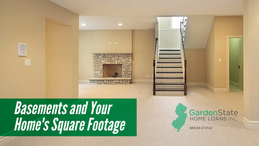 , Basements and Your Home's Square Footage