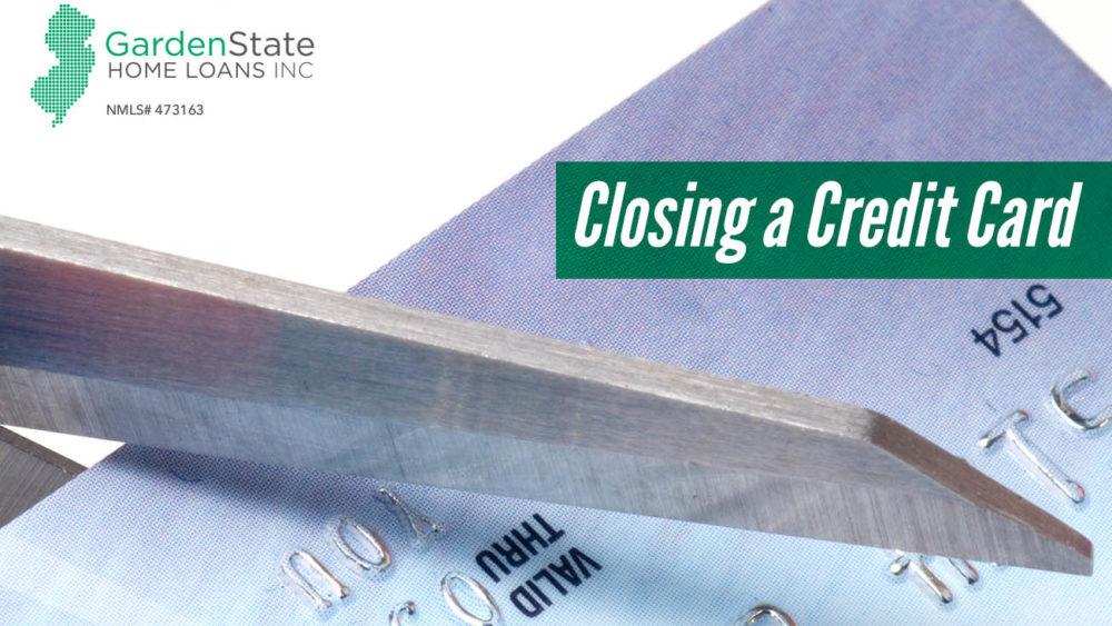 , Closing a Credit Card