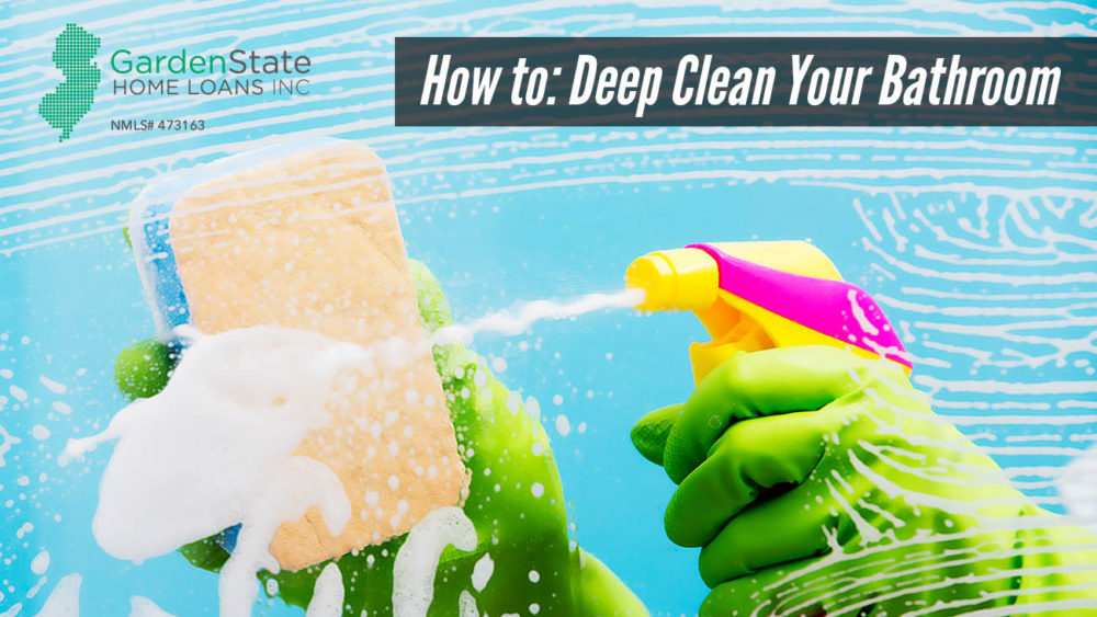 , How to: Deep Clean Your Bathroom
