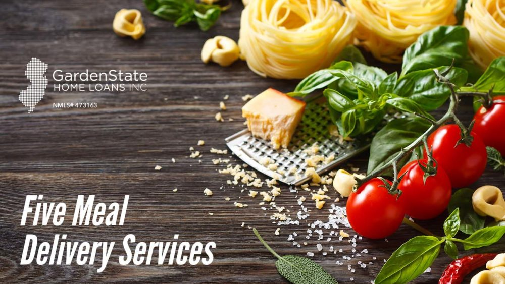 , Five Meal Delivery Services