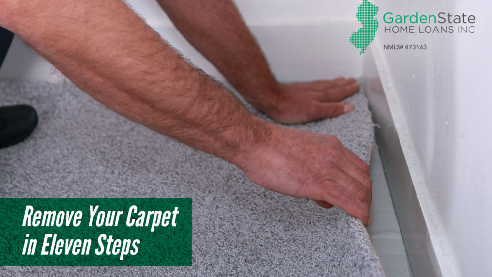 , Remove Your Carpet in Eleven Steps
