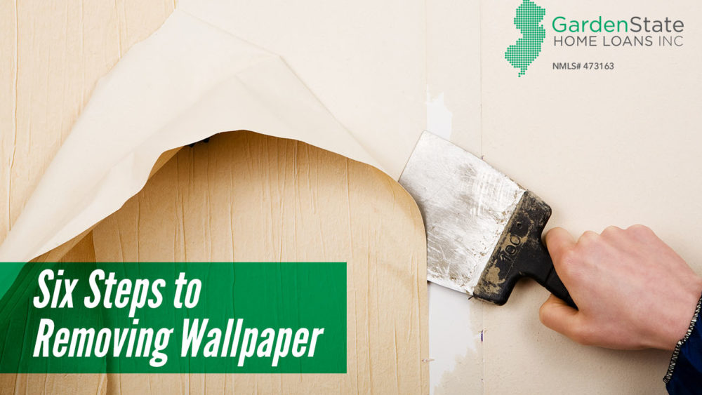 , Six Steps to Removing Wallpaper