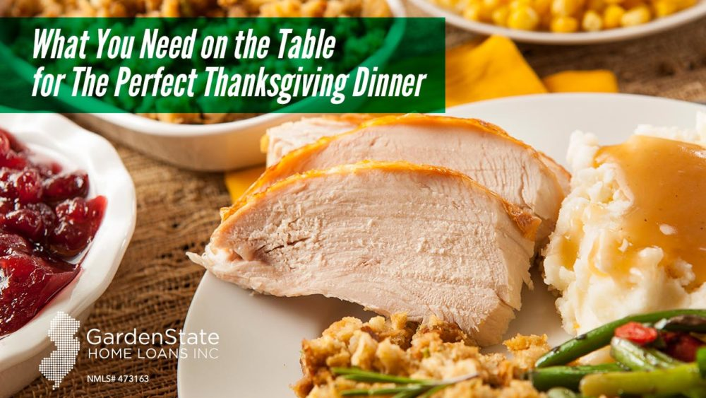 , What You Need on the Table for The Perfect Thanksgiving Dinner